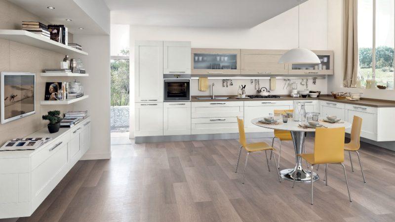 Cucina Lube Gallery design moderno anta a telaio