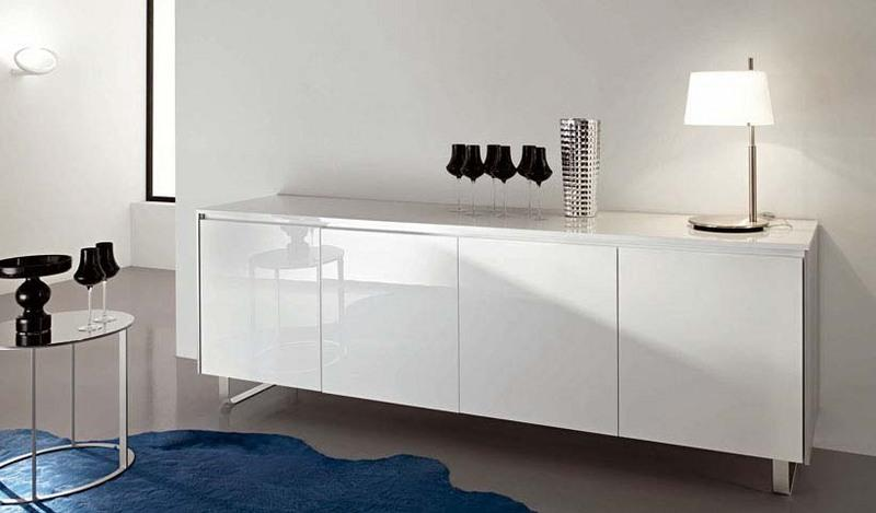 Madie moderne online laccate bianche non solo cucine - Cucine moderne bianche laccate ...