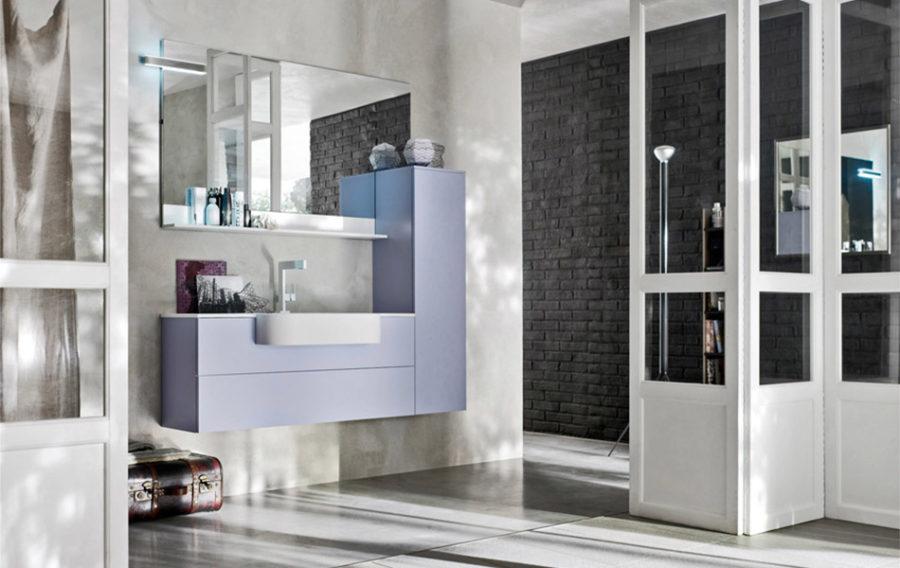 Bagno moderno forme geometriche non solo cucine - Non solo bagno milazzo ...