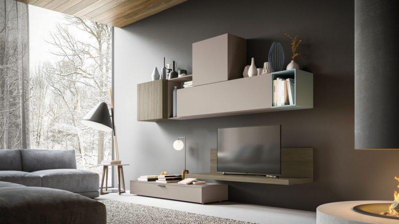 Soggiorni moderni qualità funzionalità ed estetica