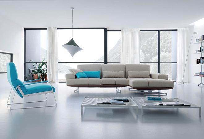 Divano e Poltrona design elegante