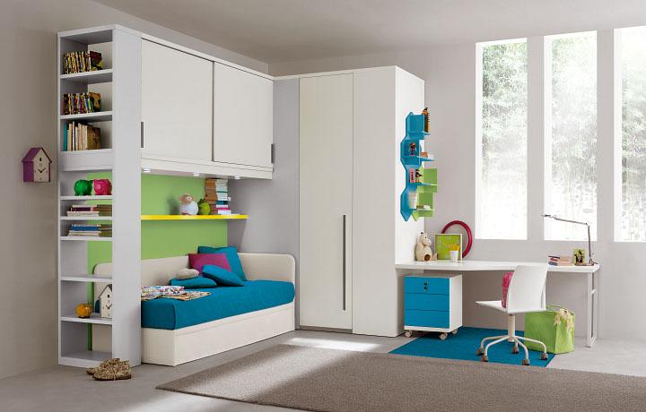 Camerette per bambini soluzioni personalizzate non solo cucine - Soluzioni per camerette ...